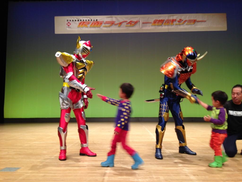 鎧武ショー